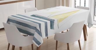 Sailing Travel Tablecloth