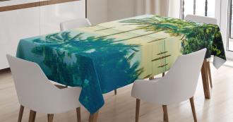Pool Nearly Beach Tablecloth