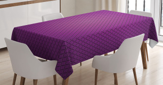 Abstract Style Modern Tablecloth