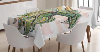 Legend Grunge Celtic Tablecloth