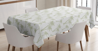 Tropic Coconut Palms Tablecloth