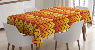 Abstract Vintage Funky Tablecloth