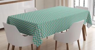 Simplistic Royalty Sign Tablecloth