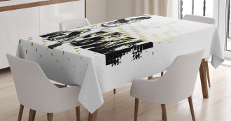 Baseball Grunge Batting Tablecloth