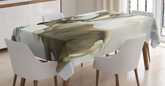 Winter Forest Paint Style Tablecloth