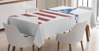 Stars Stripes Tablecloth