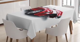 Old Fashioned Vintage Car Tablecloth