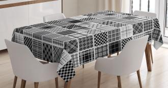 Plaid Patchwork Retro Tablecloth