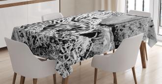 Wild Tiger Jaguar Tablecloth