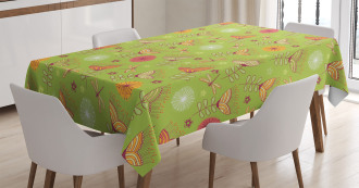 Bluebell Flowers Artsy Tablecloth