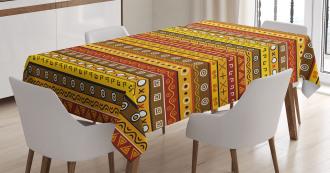 Ancient Indigenous Art Tablecloth