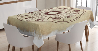 Zodiac Horoscope Sign Tablecloth
