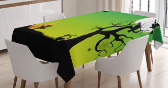 Dancing Witch Tablecloth