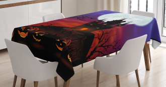 Haunted Castle Tablecloth