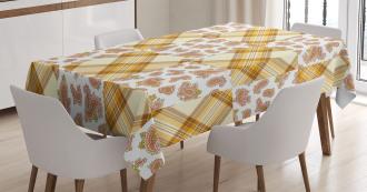 Retro Patchwork Tablecloth
