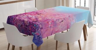 Cherry Spring Theme Tablecloth