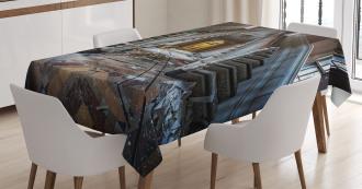 Abandoned Opera House Tablecloth