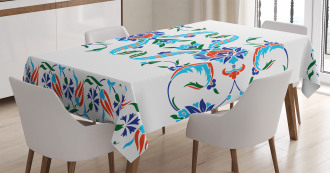 Ottoman Tulips Tablecloth