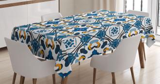 Portuguese Tilework Tablecloth