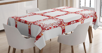 Modern Old Shapes Tablecloth