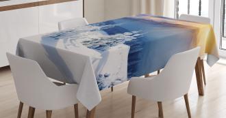 Tops Dramatic Sky Alpine Tablecloth