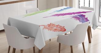 Artistic Watercolors Tablecloth