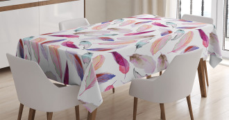 Wing Feathers Wing Art Tablecloth