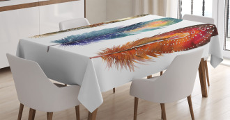 Feather Tribal Tablecloth