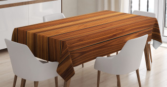 Wooden Planks Image TableCloth