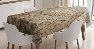 Wooden Nature Forest TableCloth
