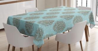 Vintage Flowers Tablecloth