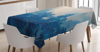 Chinese Night Tablecloth