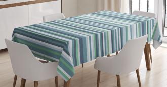 Abstract Narrow Band Tablecloth