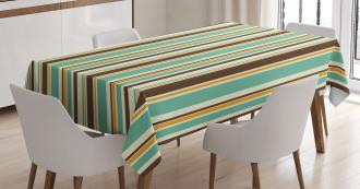 Nostalgic Fashion Art Tablecloth