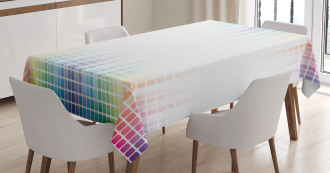 Little Square Mosaic Tablecloth
