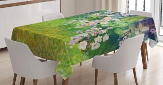 Grass Land Paint Tablecloth