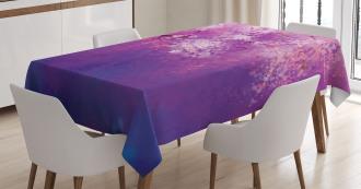 Hazy Romantic Paint Tablecloth