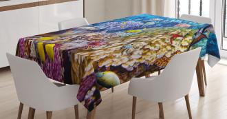 Ocean Beauties Tablecloth