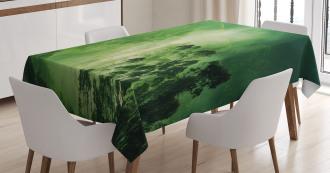 Nevada Foggy Forest Tablecloth