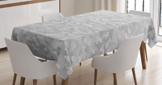Puzzle Like Pattern Tablecloth