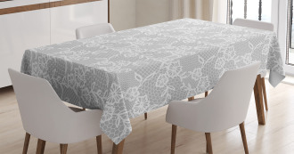 Oriental Lace Pattern Tablecloth