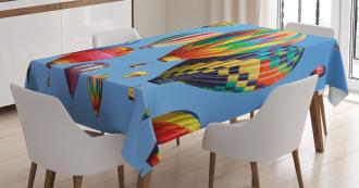 Journey Fun Sky Tablecloth