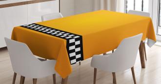 Yellow Cab Artdeco TableCloth