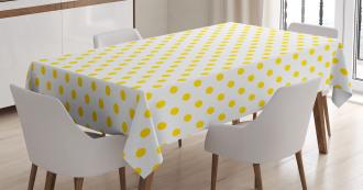 Picnic Yellow Spots Tablecloth
