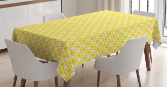 Circles Geometric Art Tablecloth