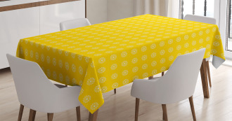 Daisies Florals Flowers Tablecloth