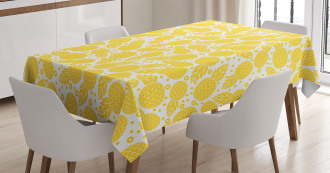 African Pineapple Fruit Tablecloth