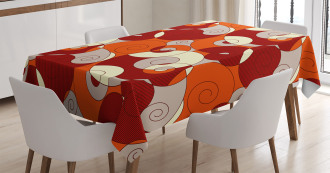Spiral Abstract Stripes Tablecloth