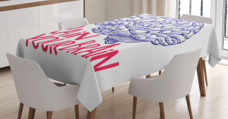 Humour Quote TableCloth