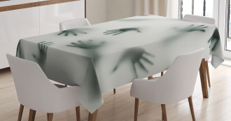 Ghost Alien Spirit Tablecloth